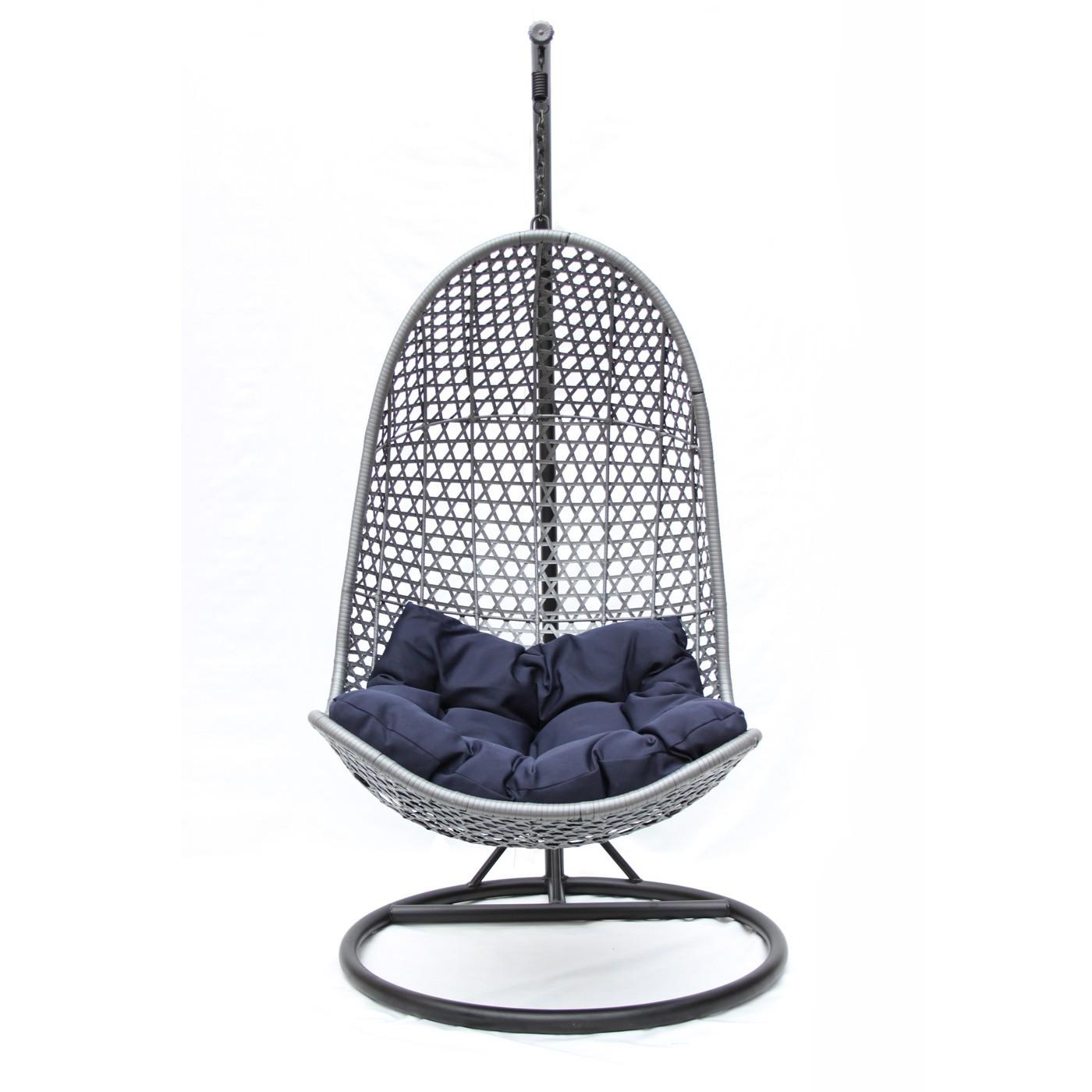 """Фото-Подвесное плетеное кресло """"Nirvana"""" KM-1011"""