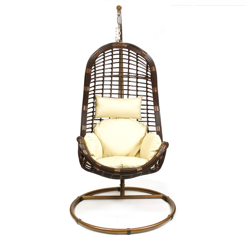 """Фото-Подвесное плетеное кресло """"Storm"""" КМ-1012"""