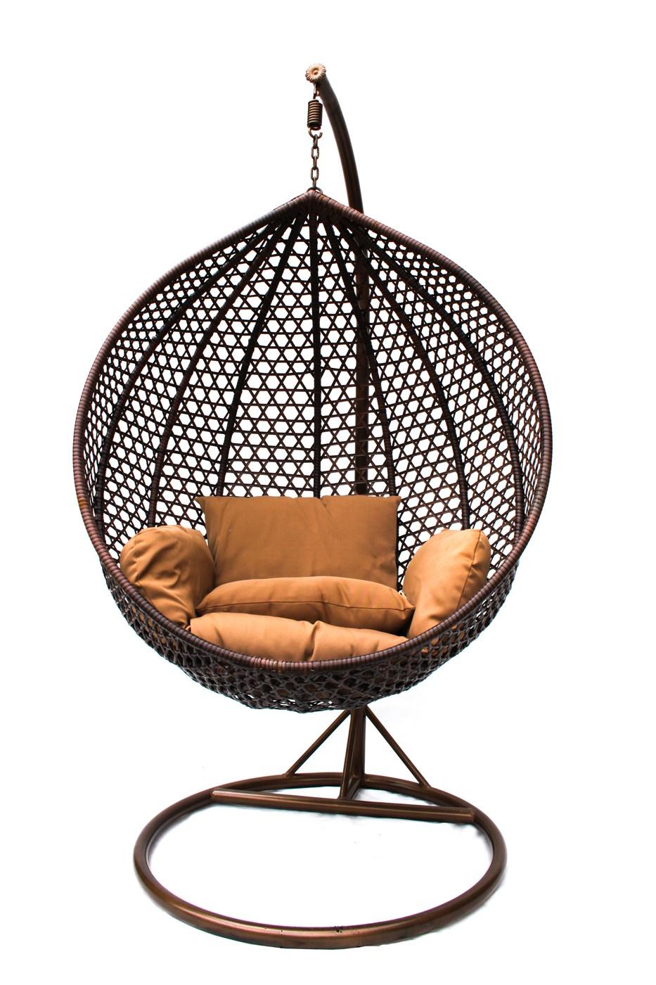 """Фото-Подвесное плетеное кресло """"Quantum"""" KM-0002 medium"""