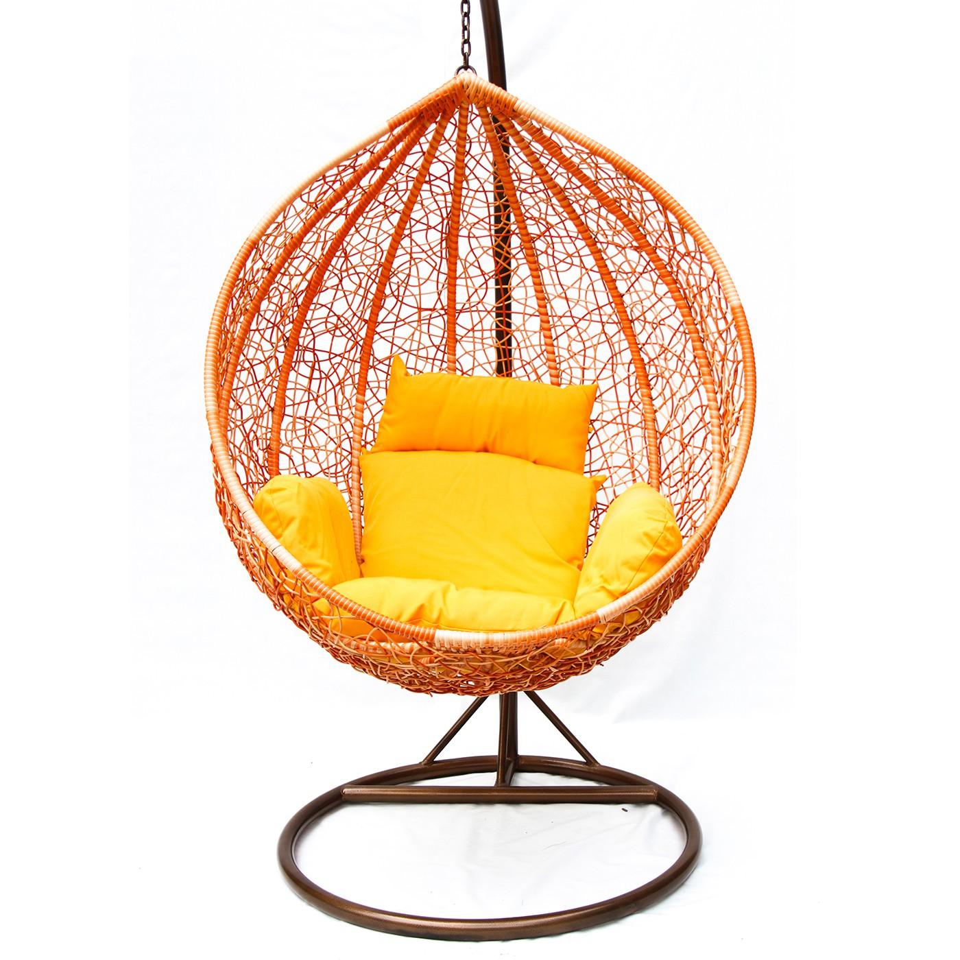 """Фото-Подвесное плетеное кресло """"ORANGE"""" KM-0001 medium"""