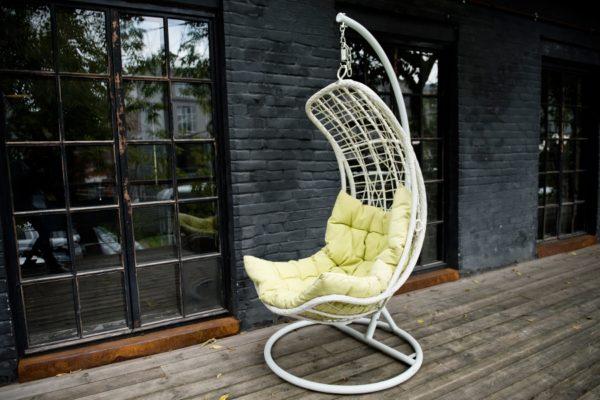 Подвесное кресло из искусственного ротанга Виши