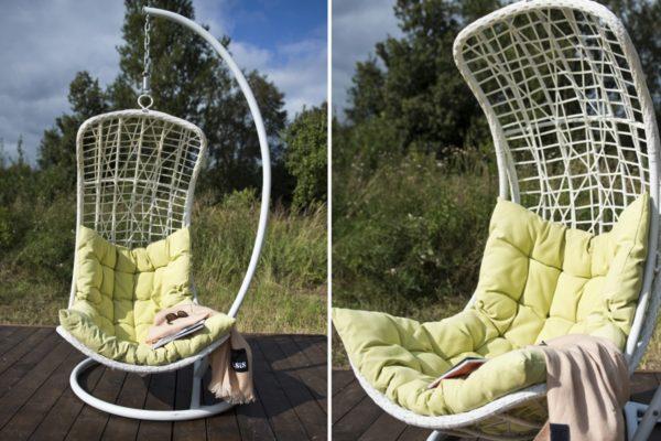 Плетеное подвесное кресло Виши