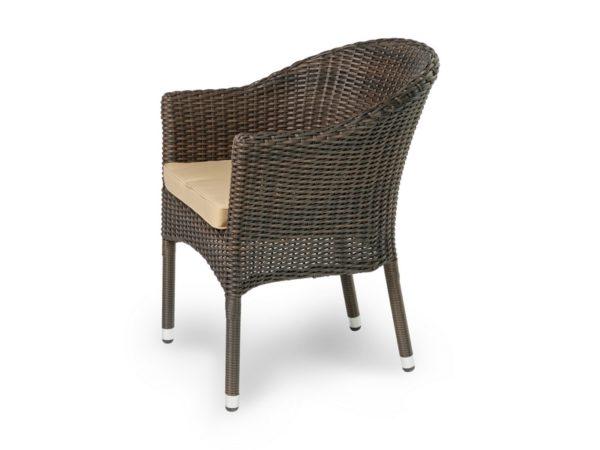 Плетеное кресло из искусственного ротанга «Warsaw».