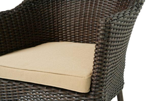Плетеное кресло из искусственного ротанга «Warsaw». Joygarden