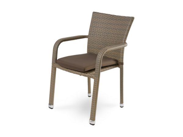"""Плетеный стул из искусственного ротанга """"Rome"""""""