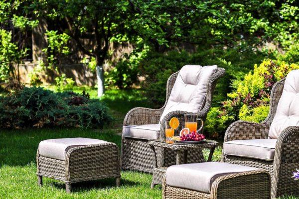 Geneva мебель для отдыха плетеная