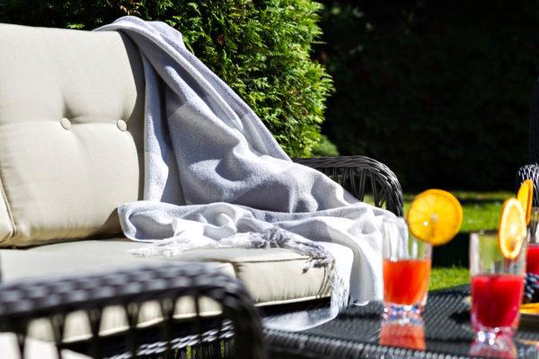 Плетеный диван «Cannes». Мебель из ротанга Joygarden
