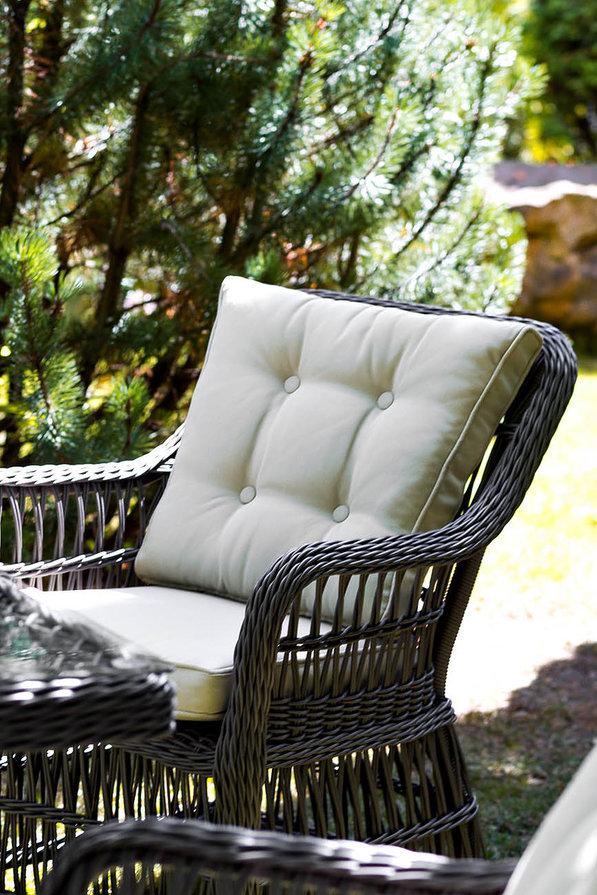 Плетеное обеденное кресло Cannes, артикул 27701.