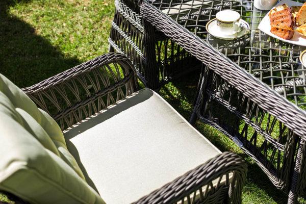 Плетеное кресло из искусственного ротанга Cannes, артикул 27701