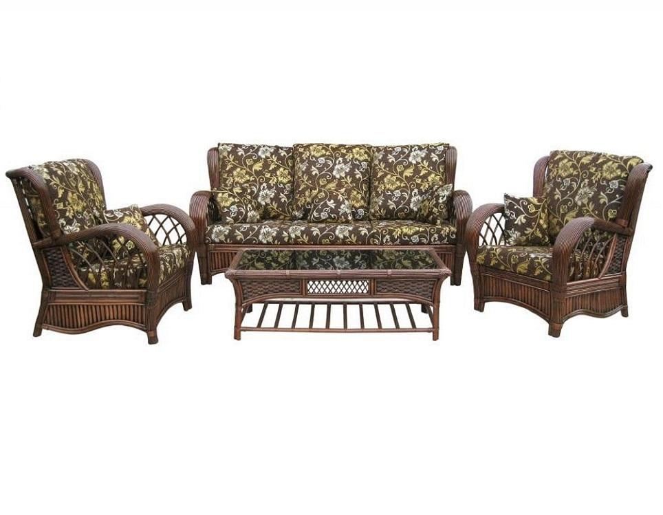 """Фото-Комплект плетеной мебели """"Casablanca-3"""""""