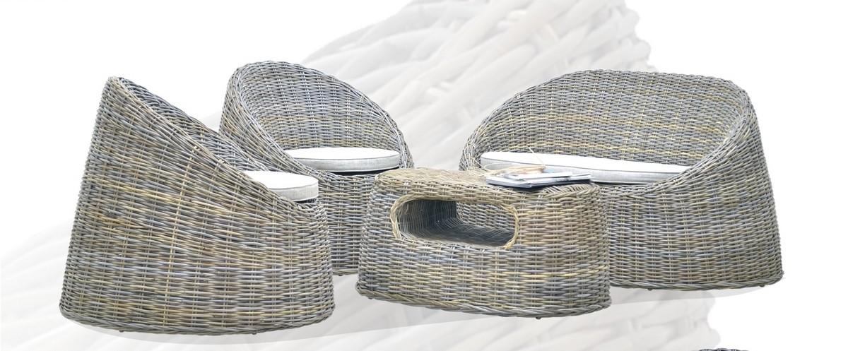 """Комплект плетеной мебели """"Dome"""" в магазине """"Дом Ротанга"""""""