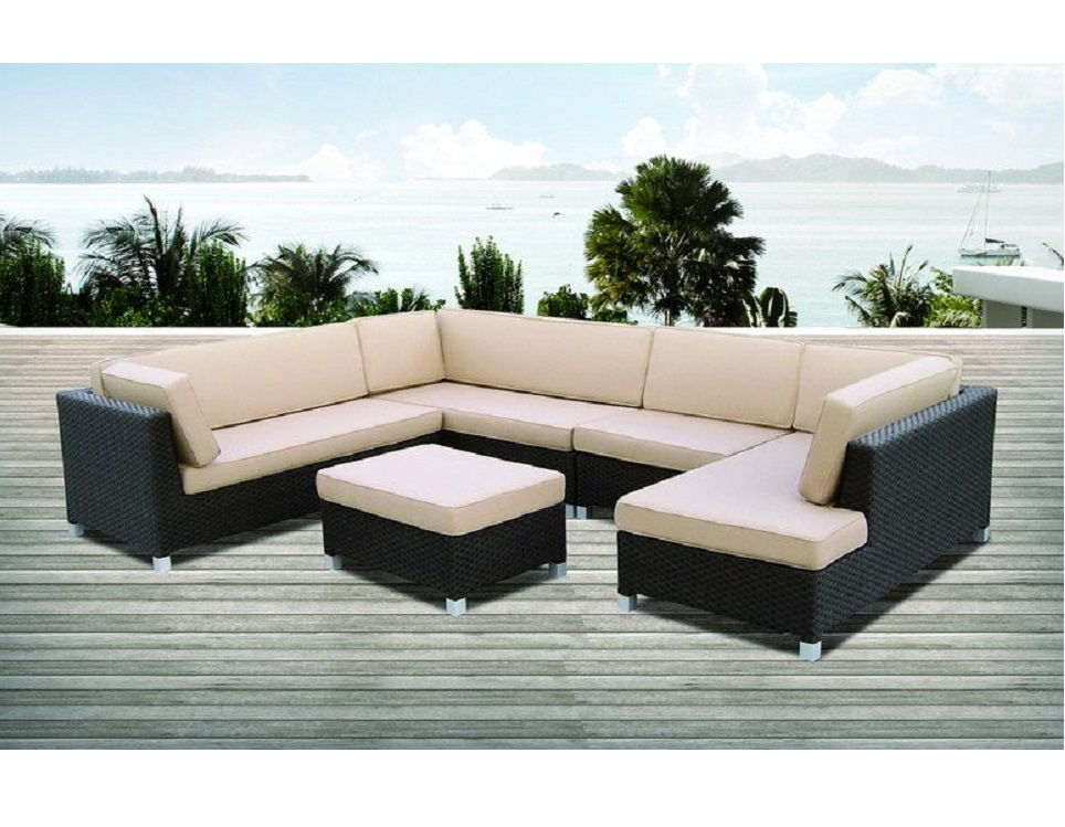 """Фото-Плетеная мебель """"Malaga"""" lounge"""
