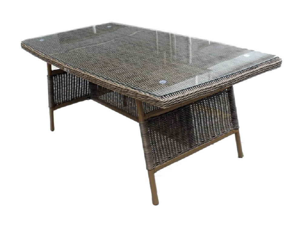 "Фото-Плетеный стол ""Opal"",150 см"