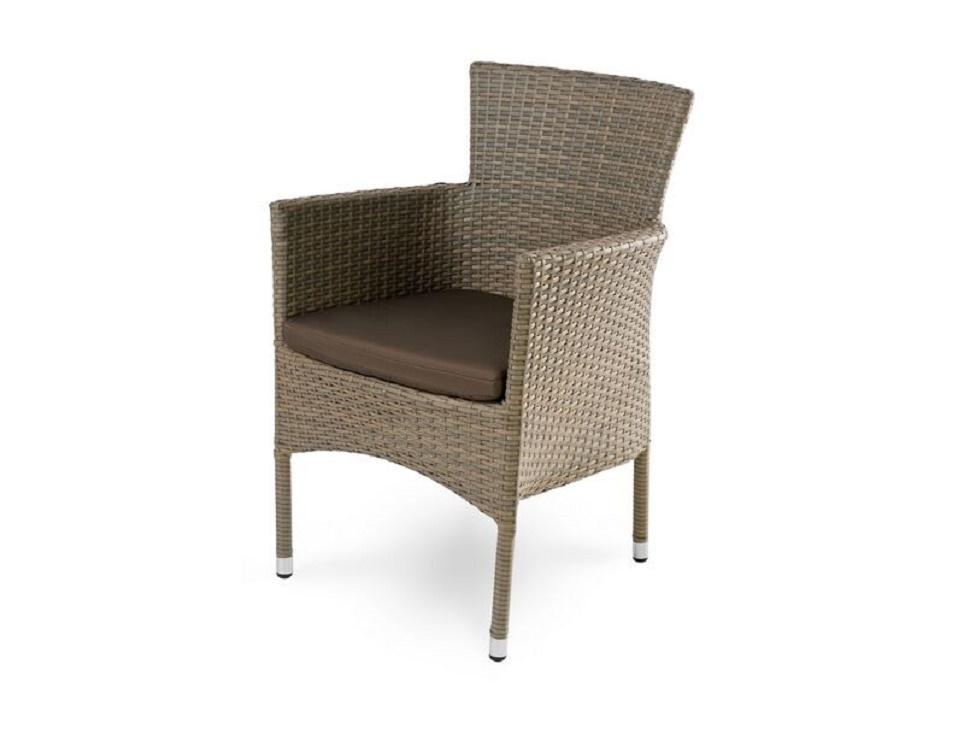 """""""Плетеное кресло """"Aroma brown"""", обеденное-картинка"""""""