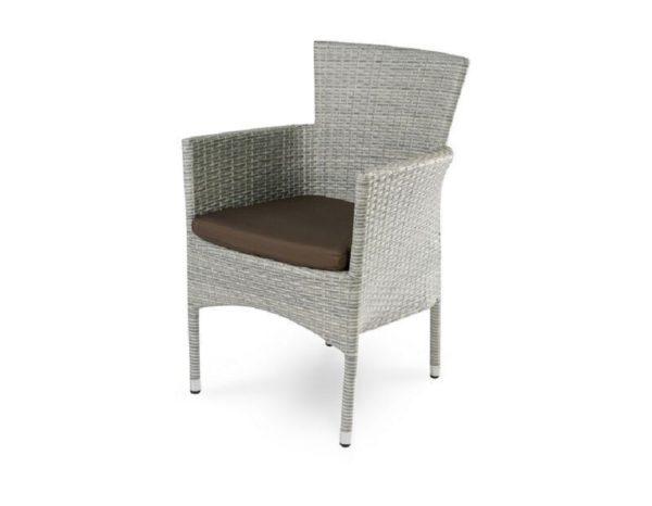 """""""Плетеное кресло """"Aroma grey"""", обеденное-картинка"""""""