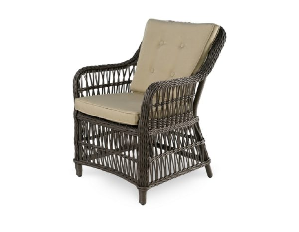 """Фото-Плетеное кресло """"Cannes"""" обеденное"""