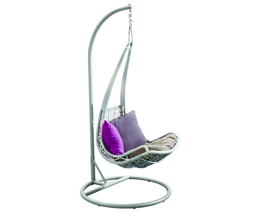 """Фото-Подвесное плетеное кресло """"Leaf"""""""