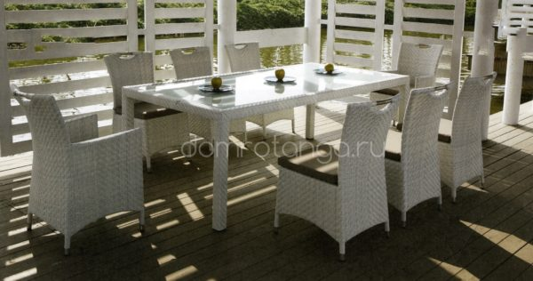 Плетеная мебель «Orient» white