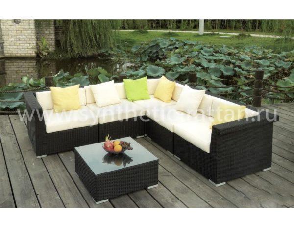 Изготовим мебель по индивидуальным размерам, поможем определиться с цветом искусственного ротанга иподушек.