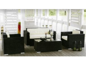 """Фото-Плетеная мебель """"Acoustic"""" black"""