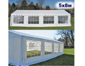 """Шатер-павильон садовый 5×8 """"AFM-1032W"""", белый"""