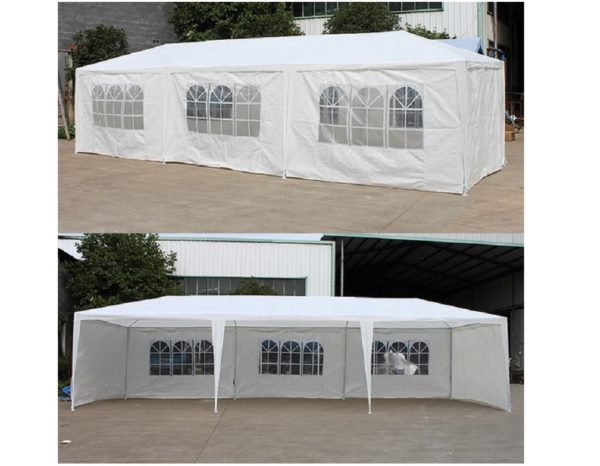 """Шатер-павильон садовый """"AFM-1045B White"""" (3х9)"""