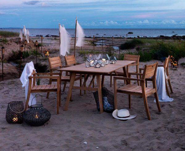"Мебель из тика ""Chios"". Brafab, Швеция"