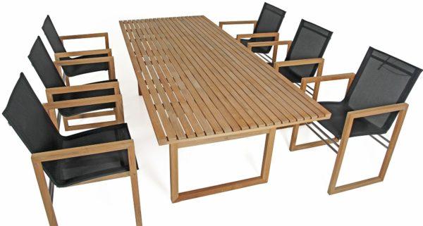 Мебель Vevi. Обеденная группа из натурального тика. Brafab, Швеция