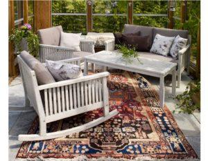 "Фото-Комплект садовой мебели из акации ""Arizona lounge"" Brafab"