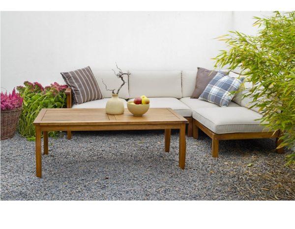 """Фото-Комплект садовой мебели из акации """"Dallas"""" Brafab"""