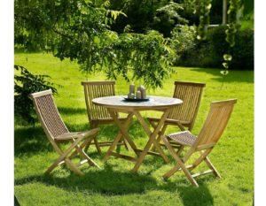 "Фото-Комплект садовой мебели из тика ""Turin"" Brafab"