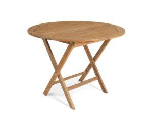 "Стол из тика ""Turin"", 100 см"