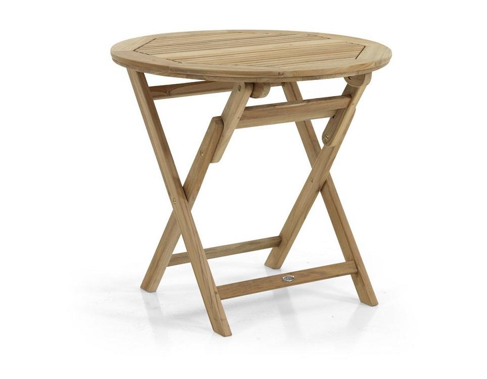 "Стол из тика ""Turin"", 80 см"