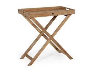 """Столик с подносом из тика """"Turin"""""""