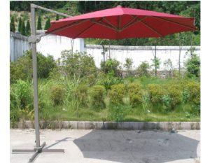 """Садовый зонт """"GardenWay А002-3000"""", цвет бордовый"""