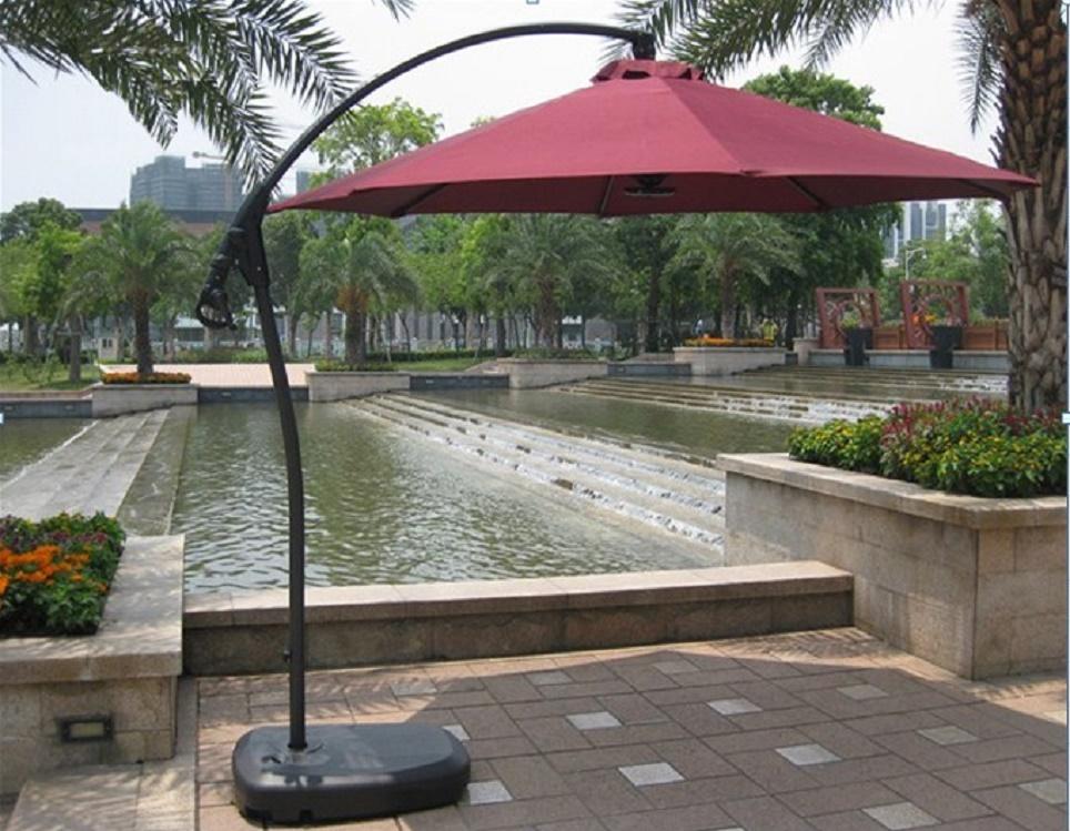 """Садовый зонт """"GardenWay А005"""", цвет бордовый"""