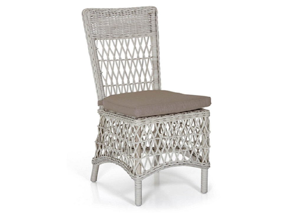 "Плетеный стул ""Beatrice white"""