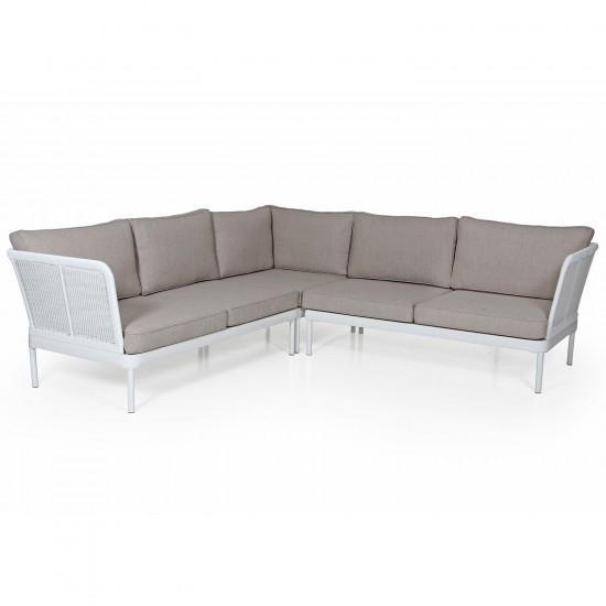 """Плетеный диван """"Ajaссio beige"""""""