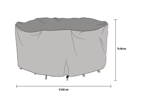 Чехол, диаметр 200 см