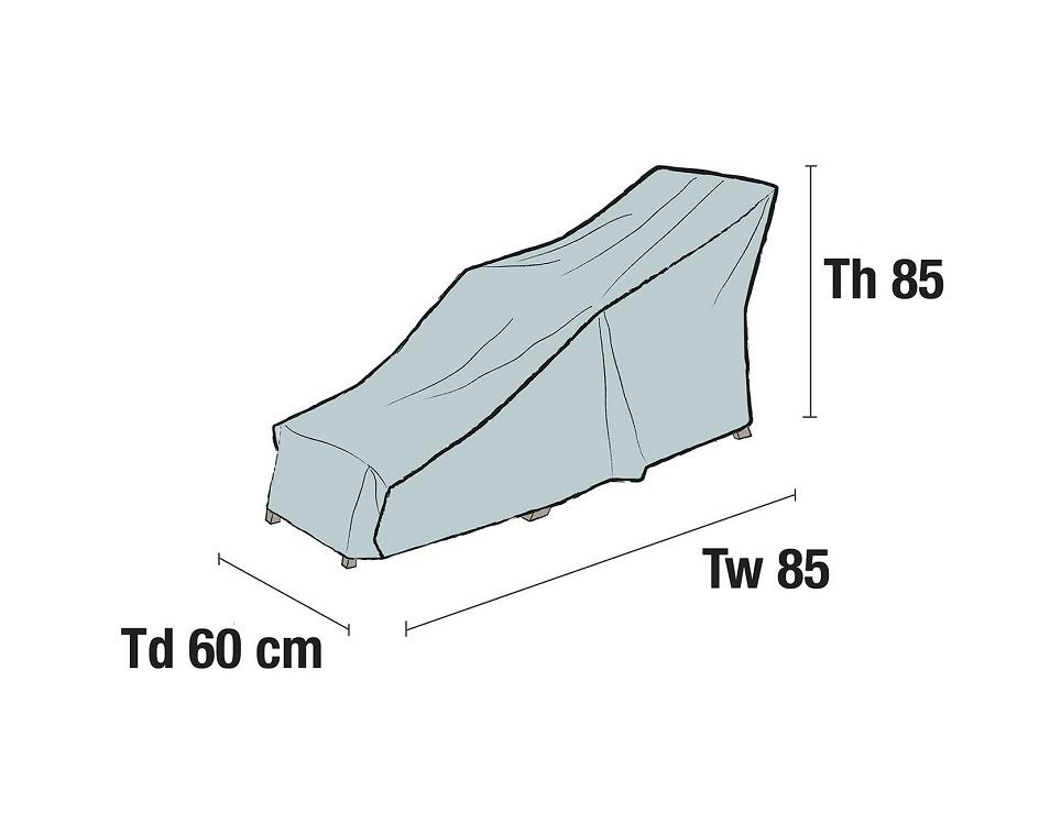 Чехол на шезлонг, 160x60x85 см