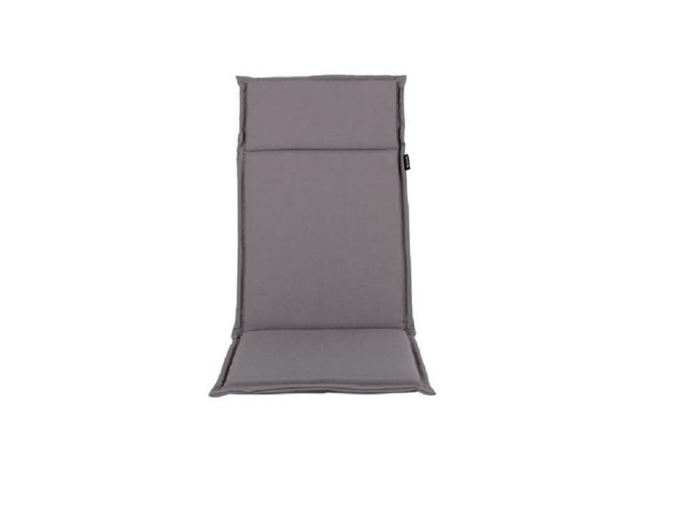 "Подушка на кресло ""Esdo"", цвет серый."