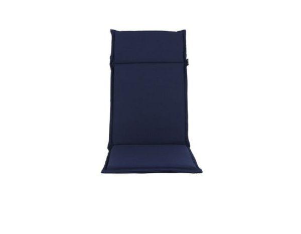 """Подушка на кресло """"Esdo"""", цвет синий."""