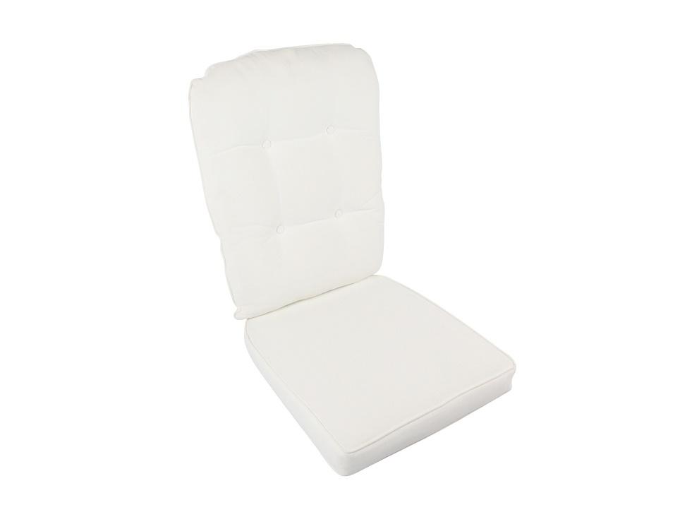 "Подушка на кресло ""Evita/Alexia"", цвет белый"