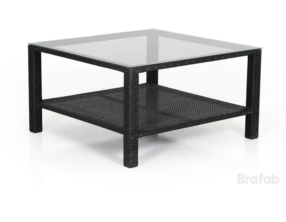 """Кофейный стол """"Madison black"""" 86х86 см"""