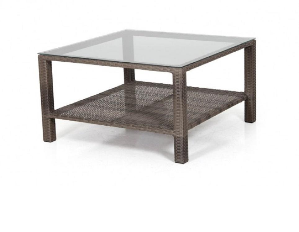 """Кофейный стол """"Madison brown"""" 86х86 см"""