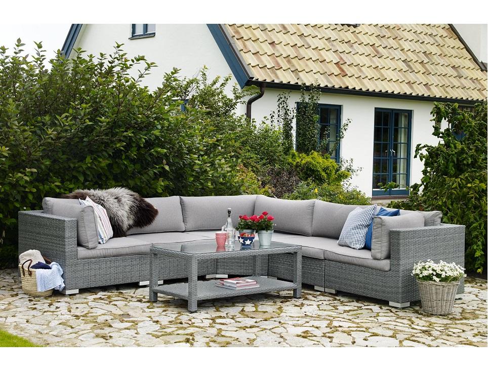 "Комплект плетеной мебели ""Ninja grey lounge"""