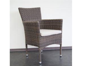 """Фото-Кресло из ротанга """"Capri"""", цвет коричневый"""