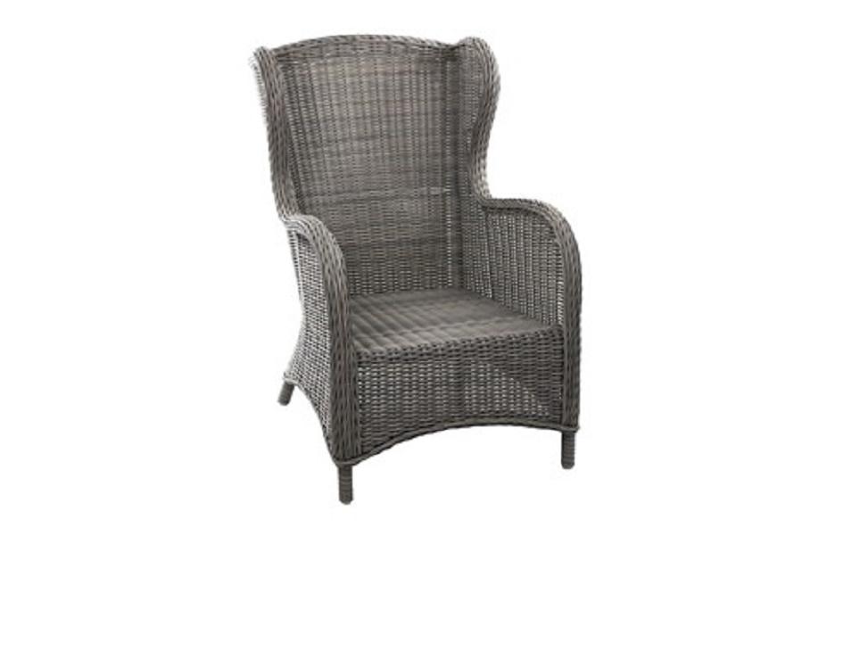 """Кресло """"Evita grey"""", цвет серый"""