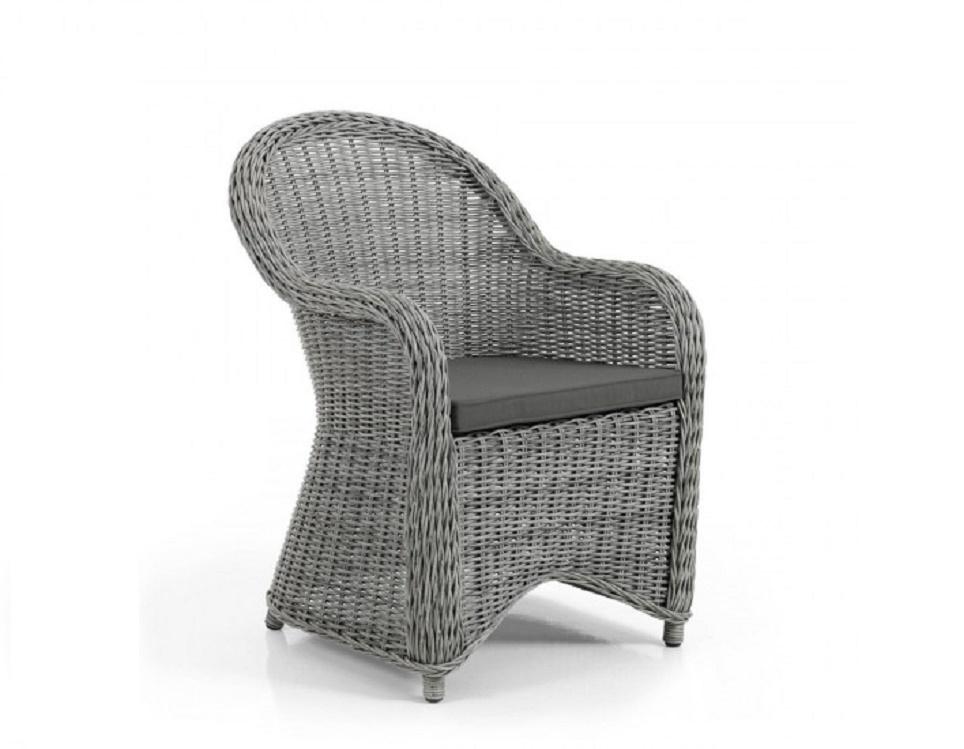"""Кресло """"Paulina grey"""", цвет серый"""