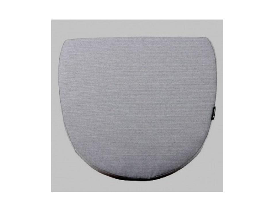 "Подушка на кресло ""Magda"", цвет серый."